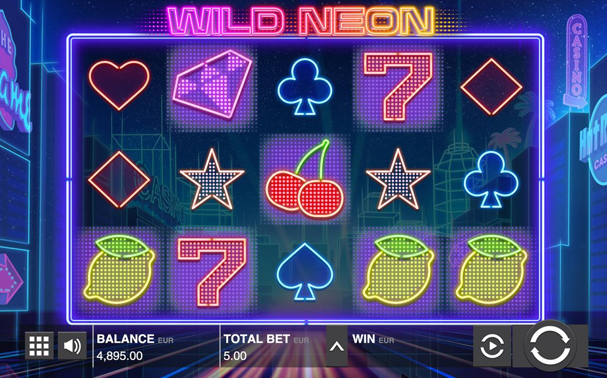 wild neon push gaming pacanele
