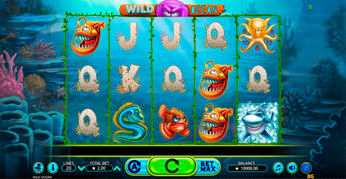 wild ocean booming games pacanele