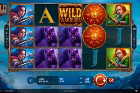wild warriors playson pacanele
