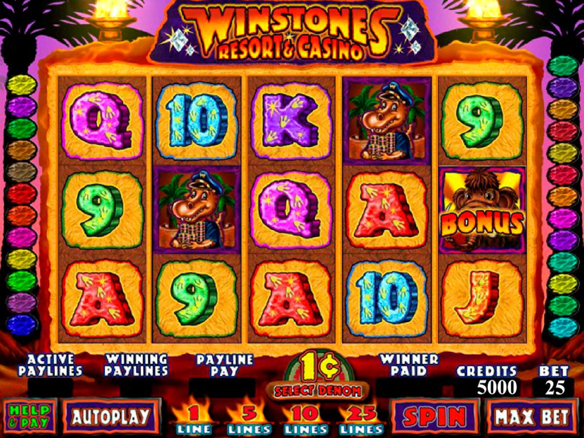 winstones resort and casino genesis pacanele