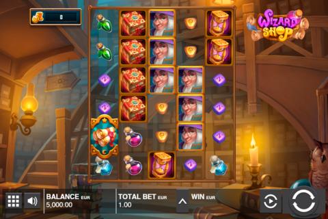 wizard shop push gaming pacanele