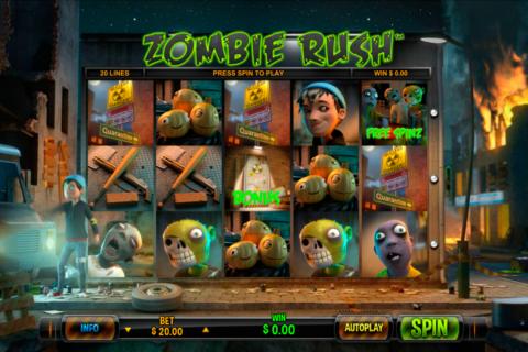 zombie rush leander pacanele